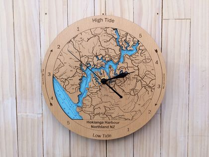 Hokianga Harbour design Tide Clock