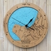 Shipwreck Bay design Tide Clock