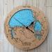 Doubtless Bay design Tide Clock