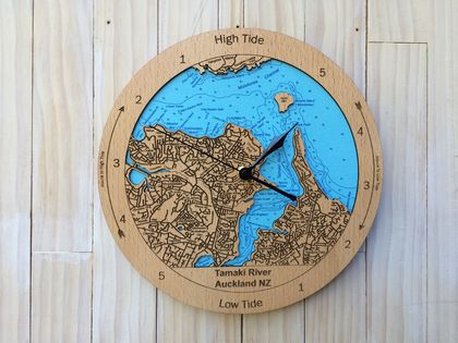 Tamaki River design Tide Clock