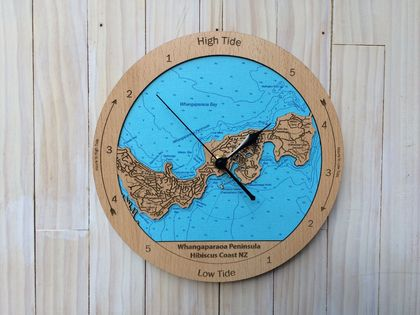 Whangaparaoa Peninsula design Tide Clock