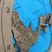 Whangaparaoa Peninsula design Tide Clock
