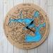 Upper Waitemata Harbour design Tide Clock