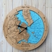 Whangamata Harbour design Tide Clock