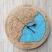 Kaikoura design Tide Clock