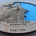 Torbay & Long Bay design Tide Clock