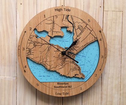 Riverton design Tide Clock