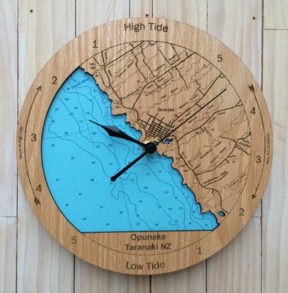 Opunake design Tide Clock
