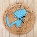 Aotea Harbour design Tide Clock