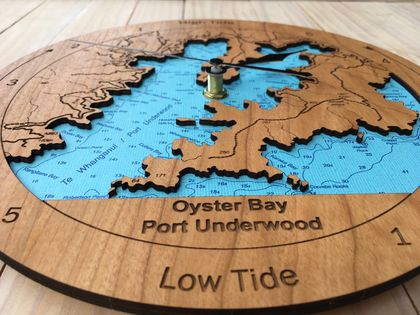 Port Underwood design Tide Clock