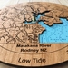 Matakana River design Tide Clock
