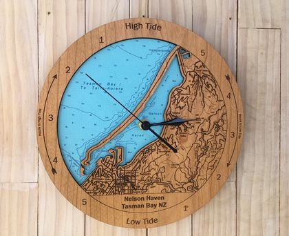 Nelson Haven design Tide Clock