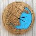 The Yorks design Tide Clock, Maine USA