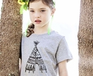 Girls T Shirt, Teepee