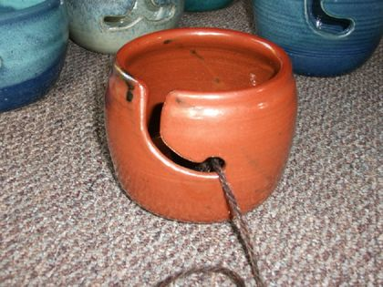 Yarn Bowl for Knitting, Crochet