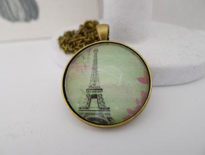 Eiffel Tower Pendant
