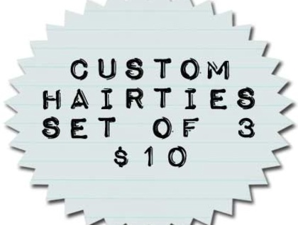 ALL PROCEEDS TO RED CROSS FOR CHC - Hair tie (3) - Fabric of your choice