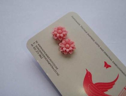 Pretty Daisy earrings - pink