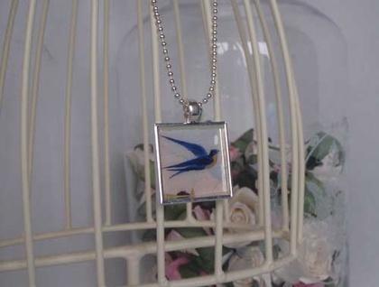 Necklace - Bluebird
