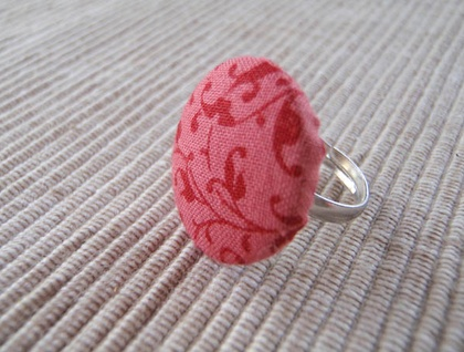 Custom Button Ring - Adjustable
