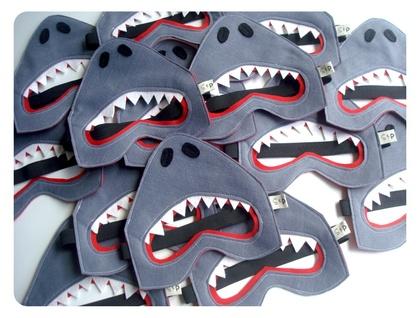 Felt shark mask