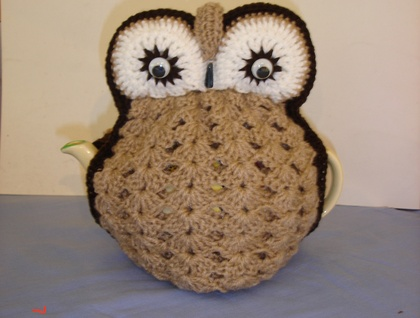 OWL TEA COSY KNITTING PATTERN FREE   KNITTING PATTERN