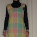 SALE SALE SALE 1/2 PRICE  .funky upcycled woollen blanket dress