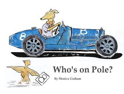 Who's on Pole? Racing car numbers book great gift for children