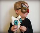 Felt owl mask