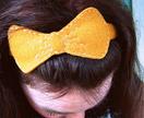 Felt hair bow