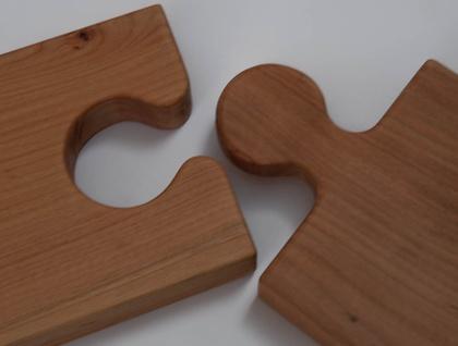 Jigsaw chopping board