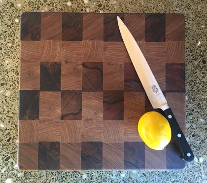 Walnut End Grain chopping board