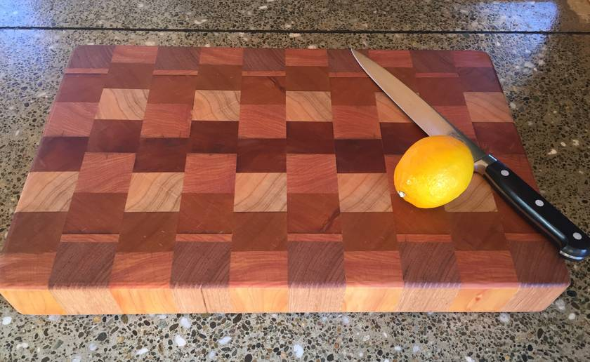 Large End Grain chopping board