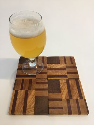 End Grain Coasters (set of 4)