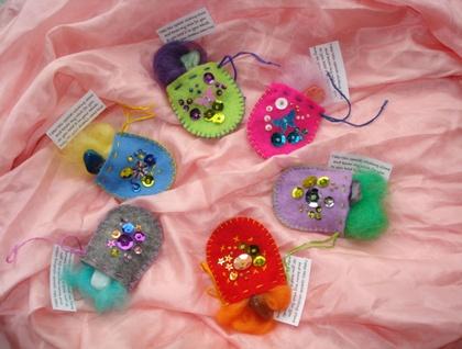 Fairy Wishing Stone Bags
