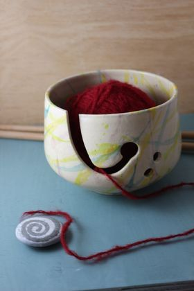 Wool Bowl ~ Yarn bowl