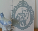 Hand Printed / Hand Bound Journal - fox