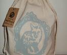 Hand Printed Laundry Bag - Fox