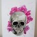 Skull Orchid - Giclee Art Print