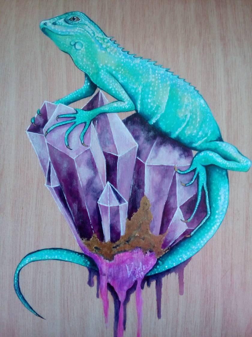Iguana - Giclee Art Print