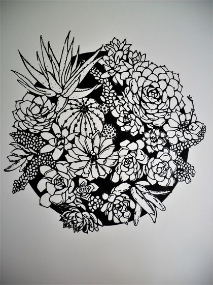 Succulent - Limited Edition Screen-print