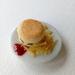 Miniature Hamburger & Fries