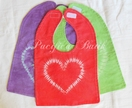 heart bib - new 2012 design