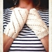 Fingerless Mitts - Fancy Cream Lace