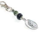 Saint Christopher Bag or Luggage Charm / Keyring