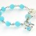 Christian Rosary Bracelet with Faith Charms