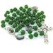 Greenstone & Paua Shell Rosary - St Francis of Assisi Center