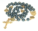 Catholic Rosary Necklace - Our Lady Star of the Sea - Stella Maris