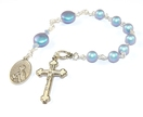 Anglican Prayer Beads, St Monica Chaplet Rosary - Mother's Saint