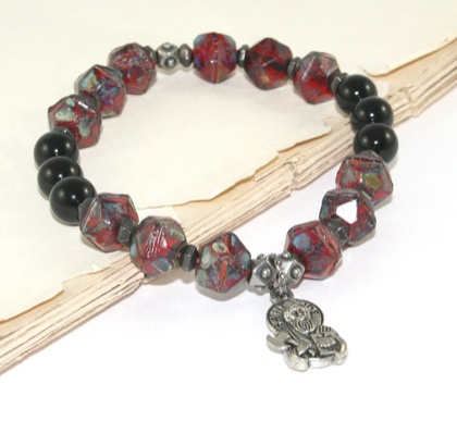 Man's Catholic Bracelet of St Jude, Patron Saint